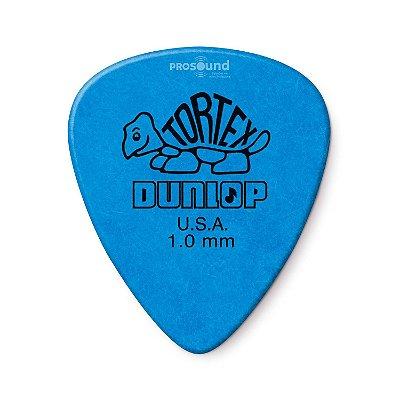 Palheta Dunlop Tortex 1,0 mm Azul