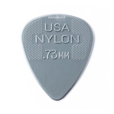 Palheta Dunlop Nylon USA Jim 0,73 mm Cinza