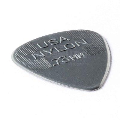 Palheta Dunlop Max Grip 0,73 mm Nylon Cinza
