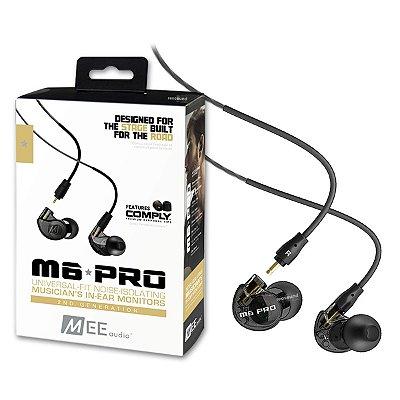 Fone de Ouvido Mee Audio M6 PRO G2 2ª Geração Black