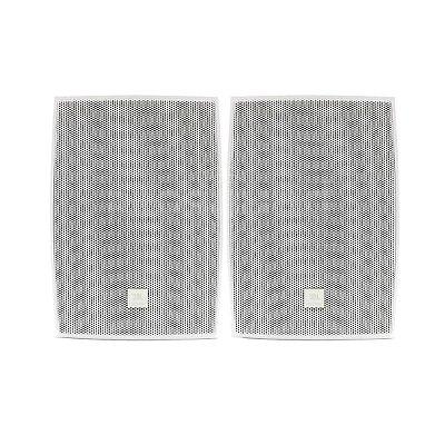 Caixa Som Ambiente JBL C521B Passiva Branca 40W Par