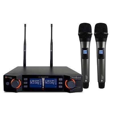Microfone Sem Fio Kadosh K-492M Duplo Bastão
