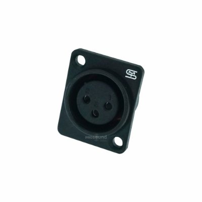 Conector XLR Fêmea Painel Smart Pro SVP561P IP54