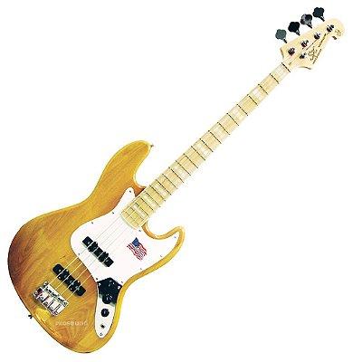 Contrabaixo SX SJB75 ASH Jazz Bass Passivo 4 Cordas Natural