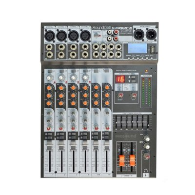 Mesa de Som SX802FX USB SOUNDCRAFT