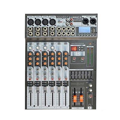 Mesa de Som SX802FX USB SOUNDCRAFT