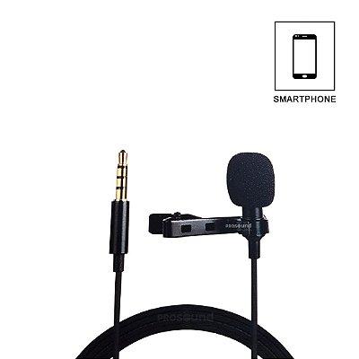 Microfone Lapela Kadosh KL1 para Smartphone