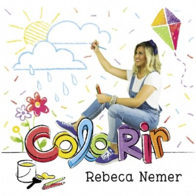 CD Colorir Rebeca Nemer