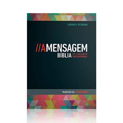 A Mensagem - Bíblia em Linguagem Contemporânea - Brochura Vintage