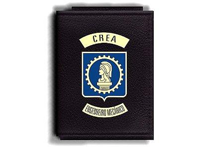 Carteira Premium Funcional Personalizada com logo do CREA - Engenheiro Mecânico