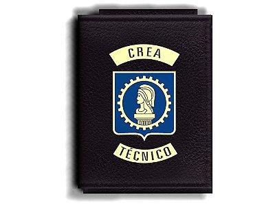 Carteira Premium Funcional Personalizada com logo do CREA - Técnico