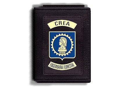 Carteira Premium Funcional Personalizada com logo do CREA - Engenheiro Florestal
