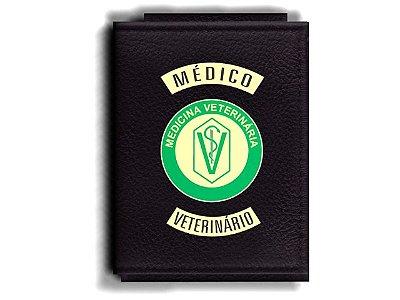 Carteira Premium Funcional Personalizada com logo do CRMV Médico Veterinário