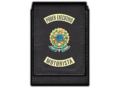Carteira Standart Plus Funcional Personalizada do   Poder Executivo com Brasões para Motorista