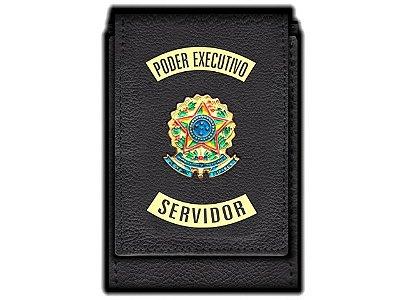 Carteira Standart Plus Funcional Personalizada do Poder Executivo com Brasões para Servidor