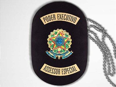 Distintivo Funcional Personalizado do Poder Executivo para Assessor Especial