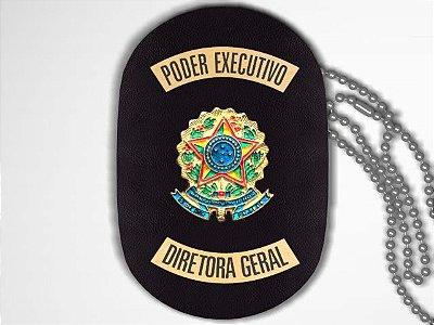Distintivo Funcional Personalizado do Poder Executivo para Diretora Geral