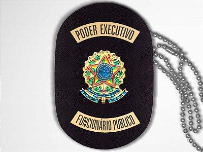 Distintivo Funcional Personalizado do Poder Executivo para Funcionário Público