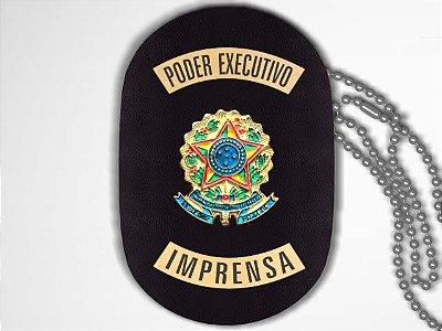 Distintivo Funcional Personalizado do Poder Executivo para Imprensa