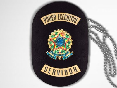 Distintivo Funcional Personalizado do Poder Executivo para Servidor