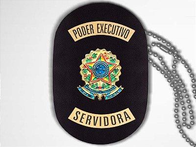 Distintivo Funcional Personalizado do Poder Executivo para Servidora