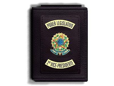 Carteira Premium Funcional Personalizada do Poder Legislativo para Segundo Vice-Presidente