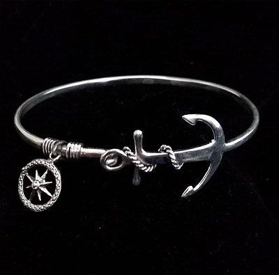 Bracelete âncora em Prata Bali925