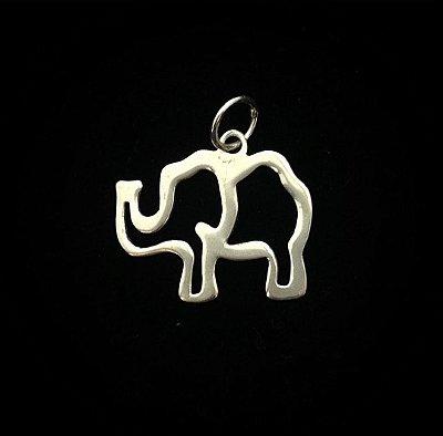 Pingente em Prata Bali 925 Elefante