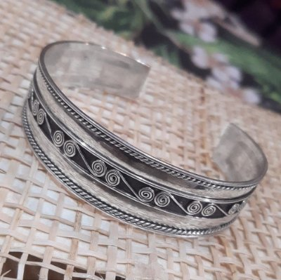 Bracelete de Prata Bali 925 ( MADE IN BALI / INDONÉSIA)
