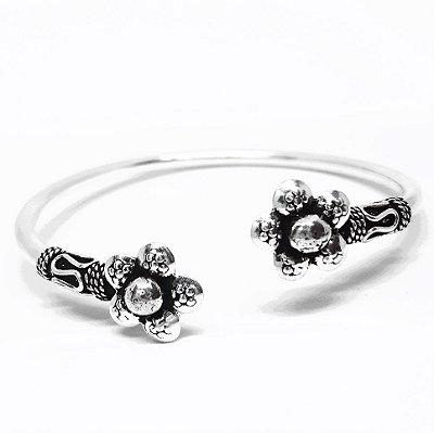 Bracelete em Prata Bali 925 feito a Mão