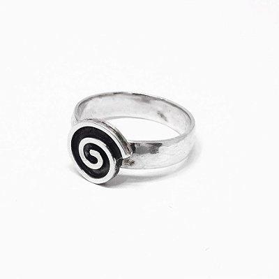 Anel de Prata Bali 950 espiral