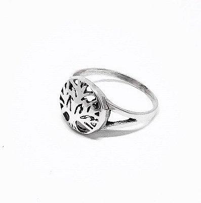 Anel de Prata - 925 - Árvore da Vida
