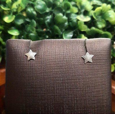 Brinco Prata Bali 925 Estrela
