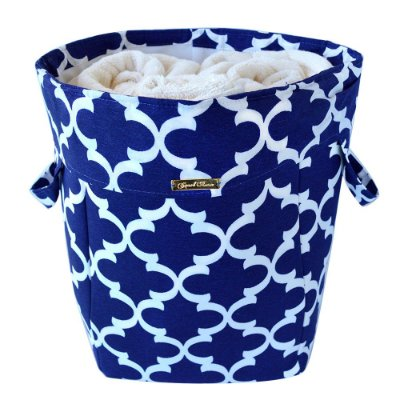 Cesto Azul, tecido Acquablock