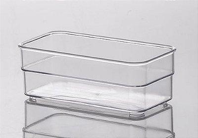 934 - Organizador Diamond Cristal | 15X7,5X5,2CM