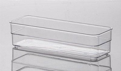 935 - Organizador Diamond Cristal | 22,5X7,5X5,2CM