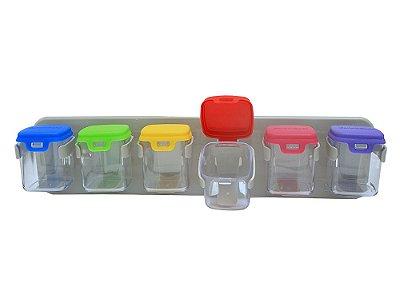 943 - Organizador c/ Suporte fixo c/6 Dispenser