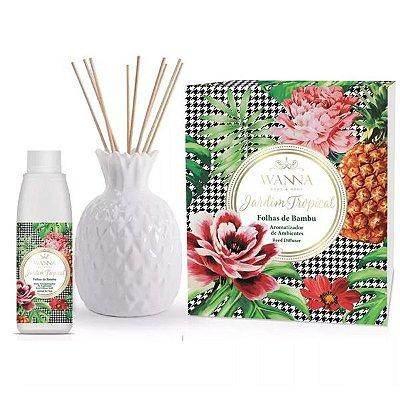 Kit Aromatizador Folhas De Bambu