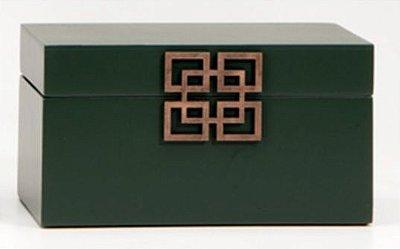 Caixa Retangular Siberia Verde - 14491