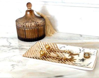 Mini Prato em Cerâmica