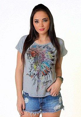 Camiseta Feminina Wevans MENINA APACHE