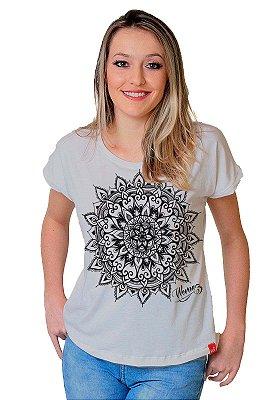 Camiseta Feminina Wevans MANDALA