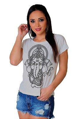 Camiseta Feminina Wevans ELEFANTE INDIANO