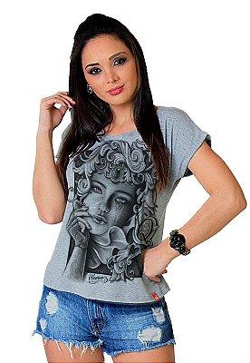 Camiseta Feminina Wevans DAMA DE COPAS