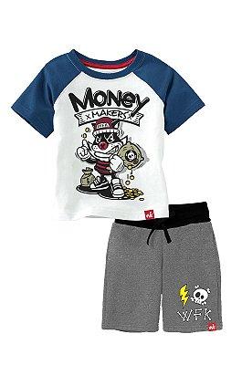 CONJUNTO WFK INFANTIL MONEY MAKERS AZUL
