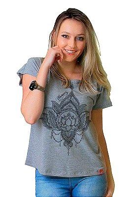 Camiseta Feminina Wevans FLOR DE LOTUS