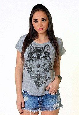 Camiseta Feminina Wevans LOBO LEADER
