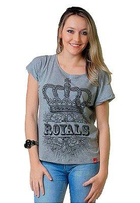 Camiseta Feminina Wevans COROA ROYALS