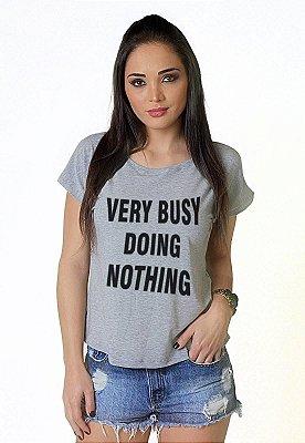 Camiseta Feminina Wevans VERY BUSY