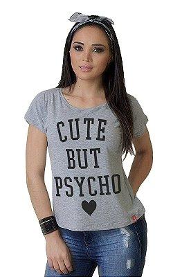 Camiseta Feminina Wevans CUTE